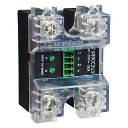 Crydom Cc4850w3v Dual Solid State Relay,in 4 To 32vdc,50
