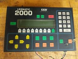 K.o.lee Leematic 2000 Control Panel Surface Grinder Hmi Touch Amcs Ops-8000