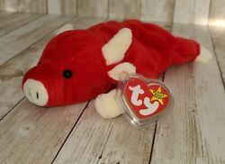 Ty Beanie Babies Snort The Bull Plush Toy - 4002