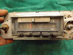 Vintage 1967 Caprice Delco Am/fm Radio Less Knobs W/nonstereo Adapter 986847- A