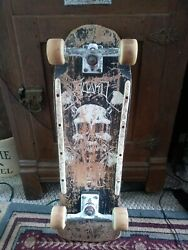 Vintage 1984 Extremely Rare Fogtown Board To Death Skateboard Complete