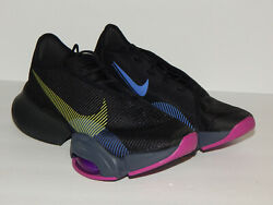 Nike Air Zoom Superrep 2 Womenand039s Shoes Cu5925-010 Sizes 6.5 Black/cyber Red Plum