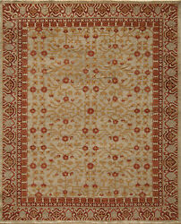 Momeni Patina Hand Knotted Wool Beige Area Rug 9and0396 X 13and0396