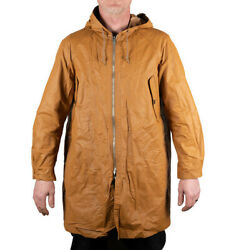 Nigel Cabourn Reversible Long Jacket Coat In Yellow Brown And Camo - Various Sizes