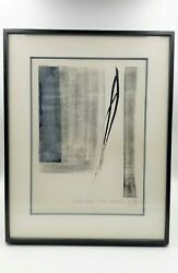 Toko Shinoda East Moon - Artist Proof Lithograph By Foremost Japanese Artist
