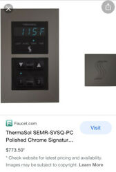 Thermasol Steamvection Steam Head Square And Signature Environment Modern Recessed