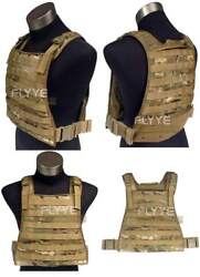Flyye Molle Mbss Plate Carrier Tactical Vest Andndash Crye Multicam Us Army Camo
