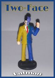 Old Batman Two Face Action Figure Very Rare Collection Figure Dc Comics Edition