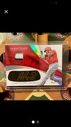 2017 Immaculate Albert Pujols Gold Auto Patch🔥11🔥future Hall Of Famer🔥