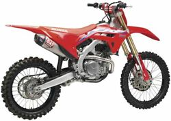 Yoshimura Offroad Exhaust For Honda Crf450r 2021 Full System Rs-12 Stainless