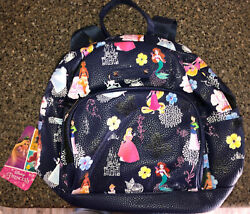 NEW Disney Princess Mini Backpack Purse Bag in Blue BRAND NEW Condition with Tag $28.00