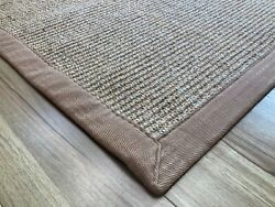 Sisal Rug For Sale | 100 Natural Sisal Rug With Cotton Tape Stiched Binding Rug