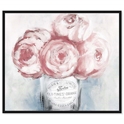 The Oliver Gal Artist Co. Floral and Botanical Framed Wall Art Canvas Prints 20quot;