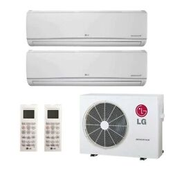 Ls 180 Hsv5 - 2 Zone Ductless Lg Wall Mounts, Hyper Heat Outdoor And Accessories