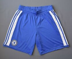 Chelsea Football Shorts 2011 2012 Home Size S Mens Blue Soccer Adidas Ig93