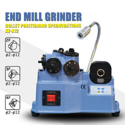 2-12mm Small End Mill Re-sharpener Lathe Cutter Sharpening Machine Grinder Tools