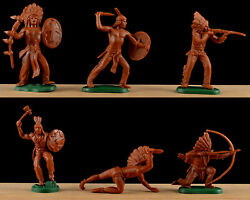 Dsg Plains Indians - Britains Herald - 54mm Unpainted Plastic - Colors May Vary