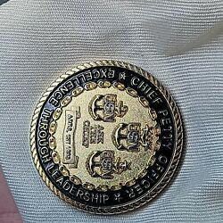 Ask The Chief Challenge Coin- Excellence Through Leadership - Very Rare