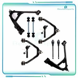 10x Front Steering Tie Rod Sway Bar Parts Fits 2000-2006 Chevrolet Suburban 1500