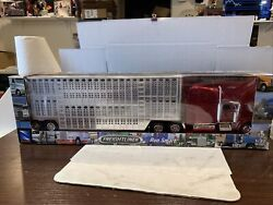 New Ray Freightliner Century Classic Cattle Hauler Semi Tractor Trailer 1/32