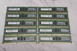 40gb Micron 10x4gb Pc3l-10600r 1rx4 Server Ram Hp 647647-071