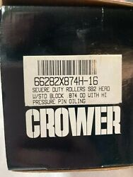 Crower 66282x874h-16 Severe Duty Roller Lifters .874 Od V8 Chevy