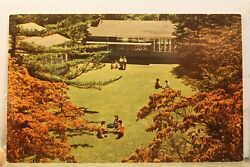 Connecticut CT Hartford College for Women Campus Postcard Old Vintage Card View