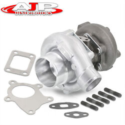 T3/t4 Jdm Stage 3 Hybrid Turbo Charger .63 Trim Bearing 420a Performance Upgrade