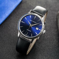 Genuine Seagull St2130 Movement 10mm Exhibition Back 5027 Automatic Men's Watch