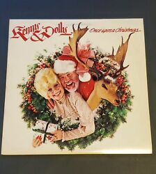New Kenny Rogers And Dolly Parton Once Upon A Christmas 1984 Asl-15307 Lp Sealed