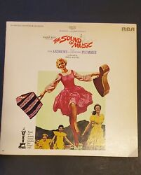 The Sound Of Music Original Soundtrack 1965 S3rs-3344 Rca Stereo Lp Vinyl Record