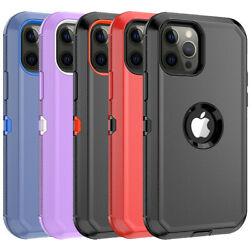 Lot 100pack Shockproof Defender Case Cover For Iphone 11 12 Pro Max Wholesale