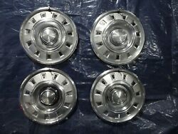 1968 1969 Dodge Charger Dart 14 Inch Hubcaps Wheel Covers Set Of 4