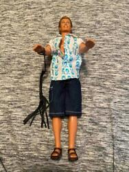 Rare Ken Barbie Doll Mattel Includes Leather Whip Nipple Belly And Earring