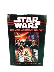 1994 Star Wars The Jedi Academy Trilogy Kevin J Anderson Hardcover Dust Jacket
