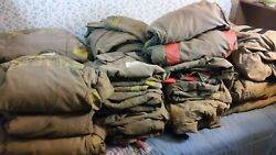 16 +/- Sets Globe And Morning Pride Firefighter Turn Out Bunker Gear Jacket Pants