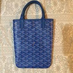Goyard Genuine Poitiers Blue New Limited Edition Sold Out Rare Ship From Japan