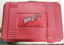 Milwaukee 4270-21 Electro Magnetic Drill Press Cat No. 4270-20