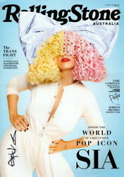 Sia Signed Autograph Rolling Stone 11x17 Poster Photo Print - We Are Born Star