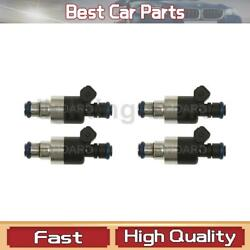 Fuel Injector Standard Ignition Fit Geo 1990-1992 4 Pcs