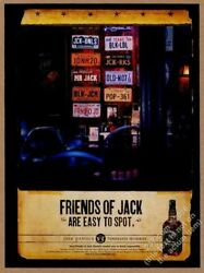 2001 Jack Danieland039s Whiskey License Plate Collection Photo Vintage Print Ad