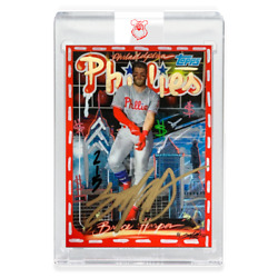 King Saladeen - Edition Of 15 - Hand Embellished - 1999 Bryce Harper