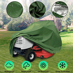 Riding Lawn Mower Tractor Cover Dust Uv Protector Waterproof Outdoor Yard Garden