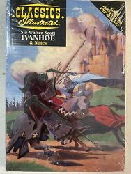 Classics Illustrated Ivanhoe, Journey To The Center Of The Earth, Les Miserables