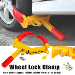 Anti Theft Wheel Lock Clamp Boot Tire Claw Trailer Auto Car Truck Towing 8holes