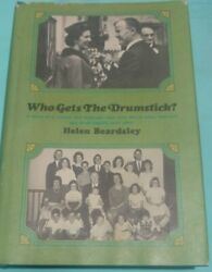 1965 Who Gets The Drumstick Helen Beardsley 1st Edition 1st Printing Book Club