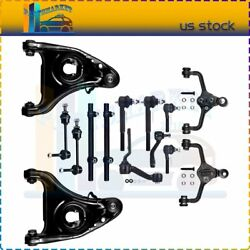 For 1995-02 Lincoln Town Car Upper Lower Control Arm Sway Bar Idler Arm Kit 14x