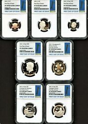 2021 S Clad Coin Proof Set First Day Of Issue Ngc Pf70 U.c. 1st