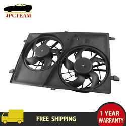 One Radiator Cooling Fan Condensor For 2007-2017 Gmc Acadia 2008-2017 Buick