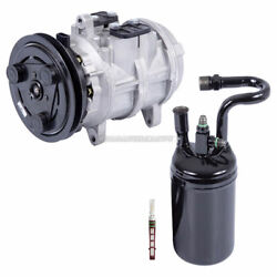 For Ford Ranger And Bronco Ii V6 Ac Compressor W/ A/c Drier And Orifice Tube Dac